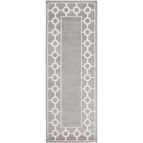artistic weavers eagan gray 2 ft 7 in x 7 ft 3 in