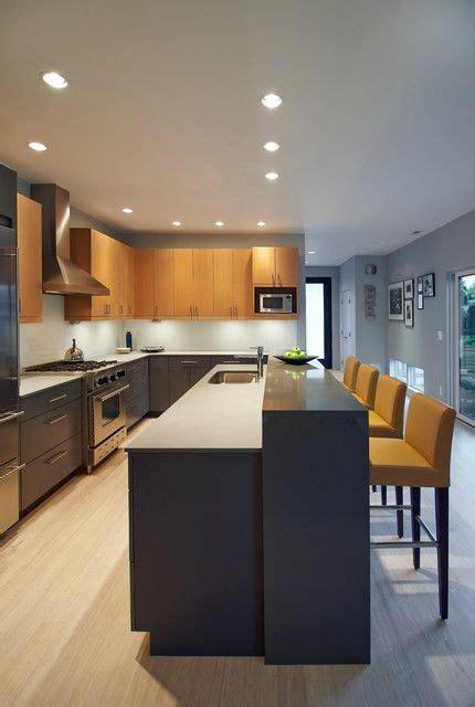 level kitchen island modern kitchen cabinets