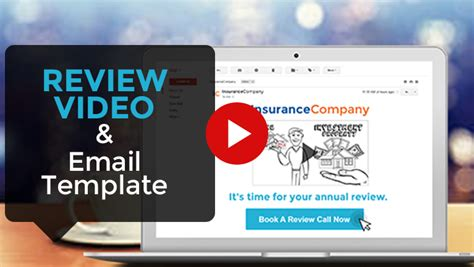 Review Video Email Template Marketing For Advisers Review Email Template