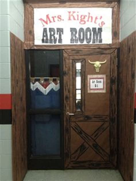 Cowboy Door Decorations by 1000 Images About Western Theme Classroom On