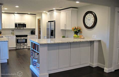 Kitchen Bar Half Wall Half Wall Breakfast Bar Kitchen Contemporary With Kitchen