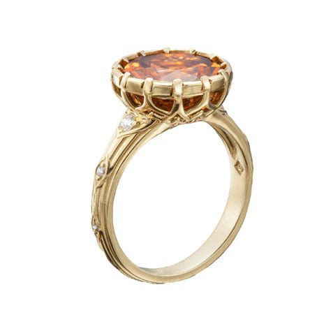 colored gemstone ring collection