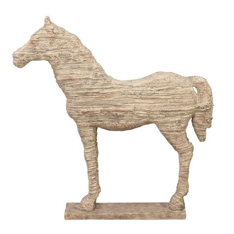 home decorators elephant her home decorators collection horse 19 in h natural statue