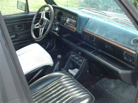 volkswagen rabbit truck interior 1980 vw mk1 rabbit caddy pickup