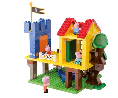 peppa pig tree house playbig bloxx peppa pig treehouse baby toddler