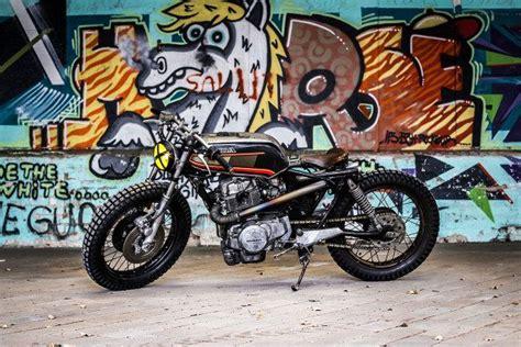 Custom Hc 408 honda cm450 custom by hide brussels bikebrewers