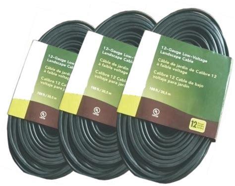 low voltage underground landscape lighting cable pvc
