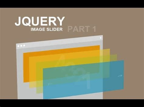 tutorial on jquery slider jquery image slider tutorial part 1 youtube