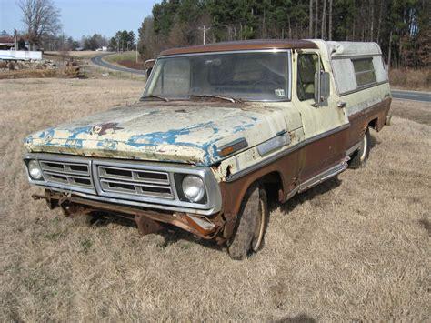 ebay ford trucks 1972 ford f100 truck ebay
