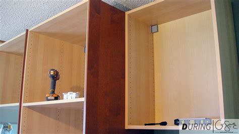 Installing Wall Cabinets by Installing Wall Cabinets Madness Method