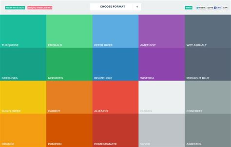 modern color fresh colours palette for modern designers mkels com
