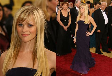 Reese Witherspoon At The 2007 Oscars by Reese Witherspoon And The Baby Food Diet