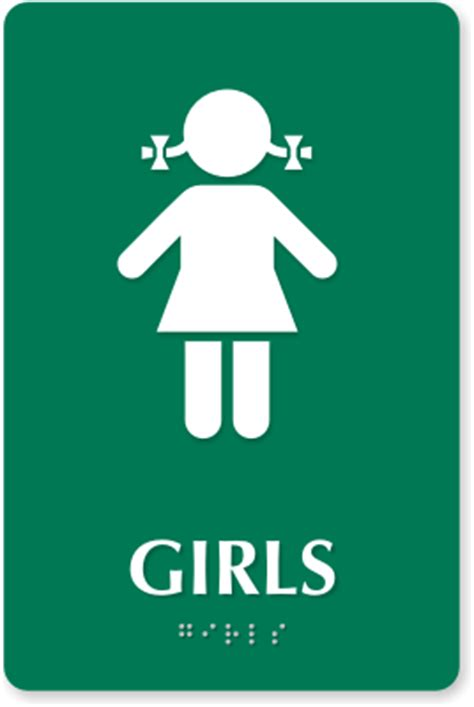 girls bathroom logo girls bathroom signs kids bathroom signs