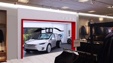Tesla Sell Tesla To Sell Electric Cars At Nordstrom Department Store