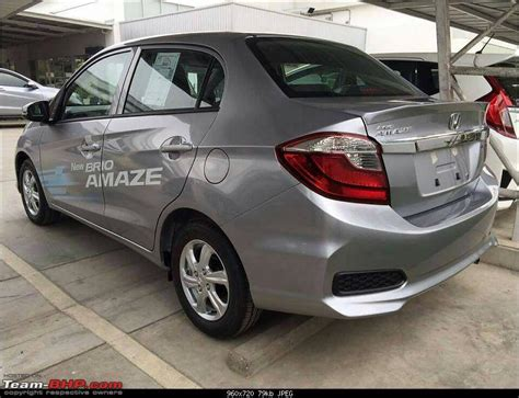 honda amaze review 2016 honda amaze facelift cvt automatic official