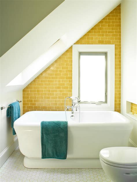 yellow tile bathroom decorating ideas 1 wall decal