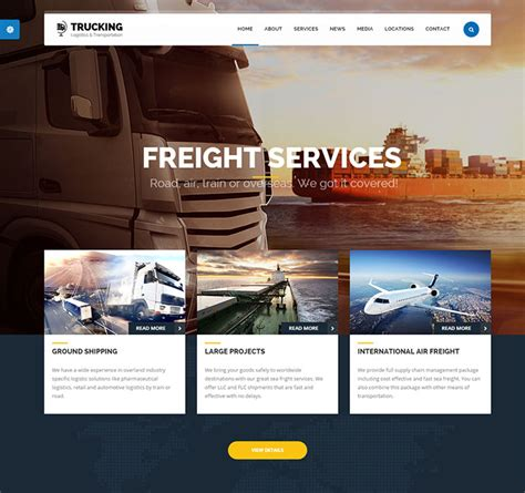 website templates for logistics company 45 best corporate business html website design templates