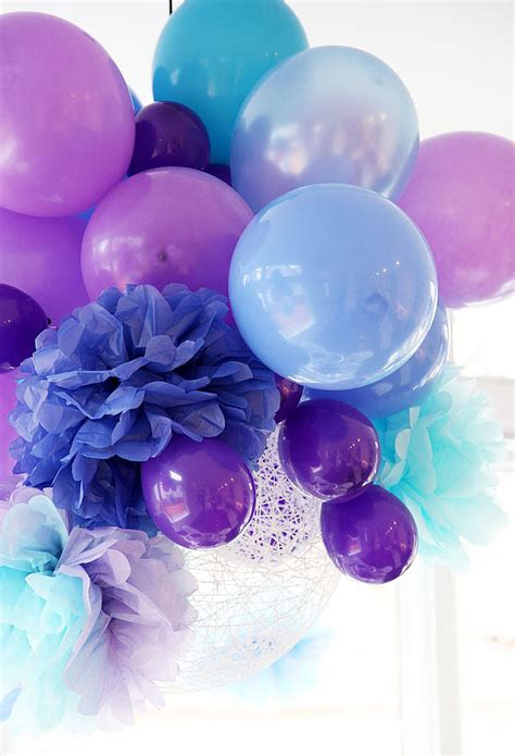 pretty purple decorating ideas watercolor wedding