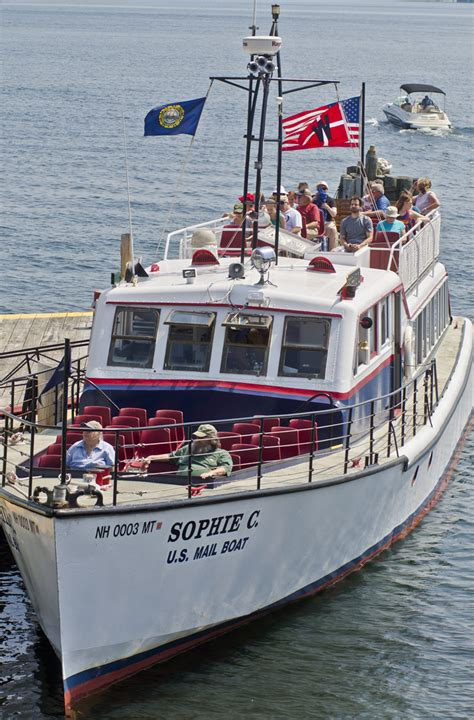 tours mail winnipesaukee s mail boat is part floating post office part time machine new hshire public