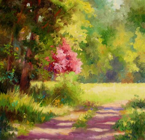 spring paint nel s everyday painting spring meadow sold