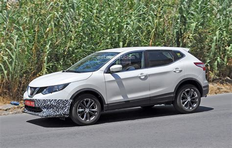 us spec nissan qashqai spied testing in spain with manlier