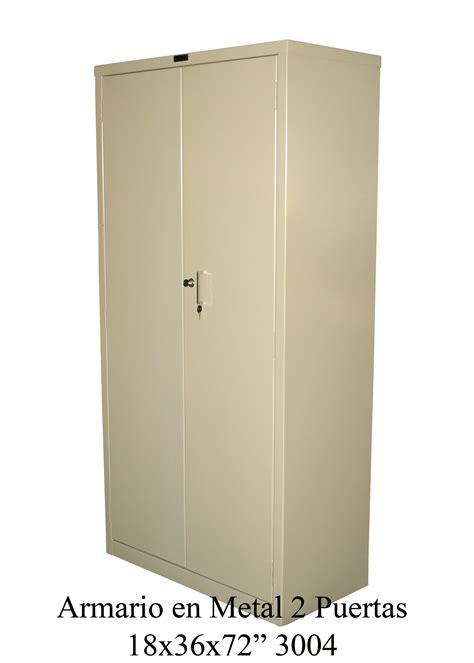 linea metal armario en metal  puertas
