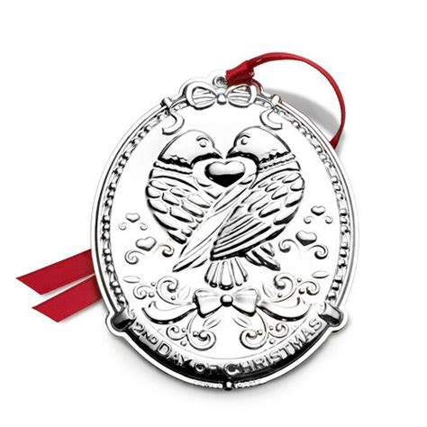2013 towle twelve days of christmas silver ornament