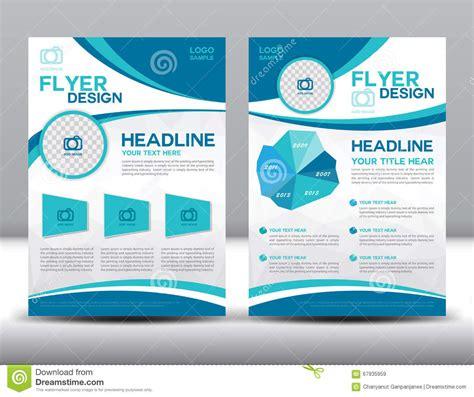brochure and flyer layout vector 6 vector brochure flyer design layout template stock vector