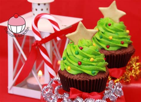make christmas tree cupcakes a cupcake addiction how to