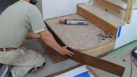 How to Install Hardwood Stairs: Curved Stairs Riser