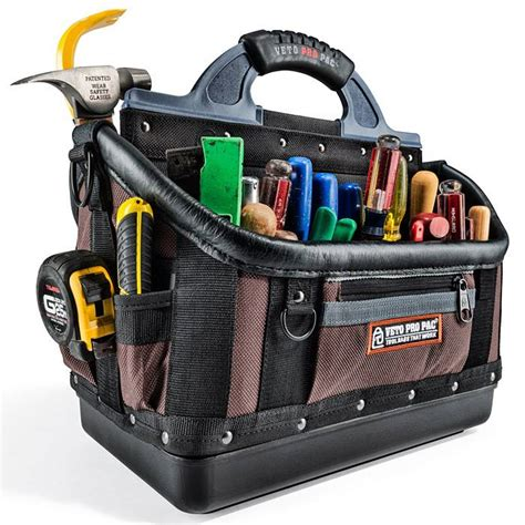 veto pro pac ot xl heavy duty open top tool bag