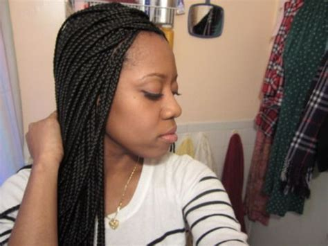 Haitian Beautiful Hairstyles For Adults by Box Braids Medium Size Box Braids 15 Day