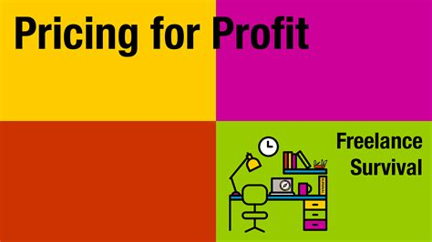 Pricing For Profit work network for web professionals o w n w p