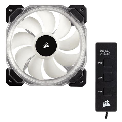corsair hd120 rgb 54 4 cfm 120mm fan corsair co 9050066 ww hd120 120mm w controller w rgb