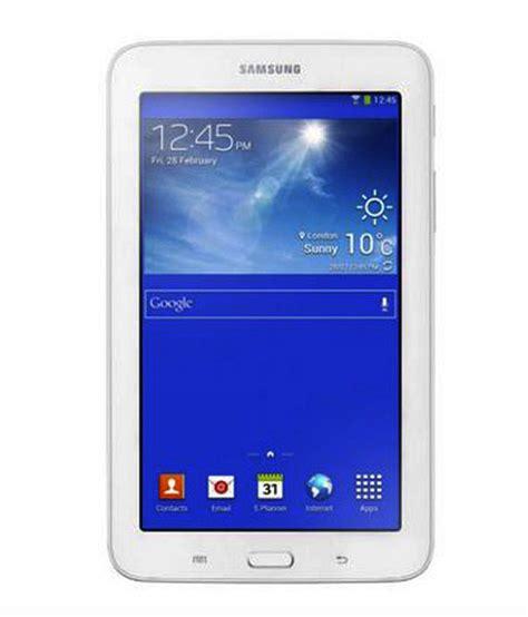 Samsung Tab 3v Di Indonesia samsung tab 3v 3g wifi calling white buy samsung