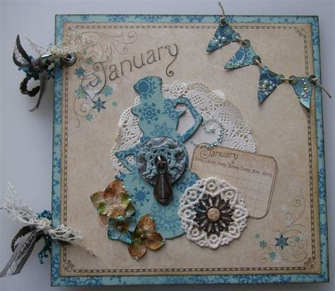 ooak handmade vintage scrapbook memory book photo albums