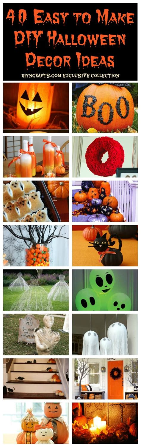 40 easy to make diy halloween decor ideas diy home things 40 easy to make diy halloween decor ideas diy crafts