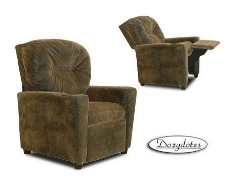 recliner with cup holder brown bomber ship
