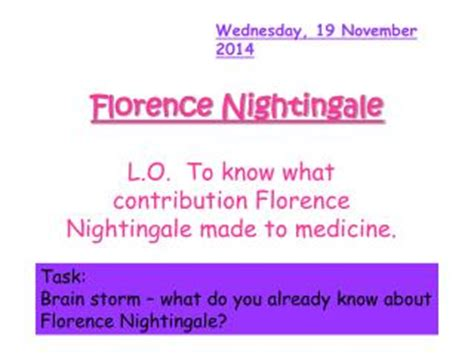florence nightingale l template ppt the nightingale and glow worm powerpoint