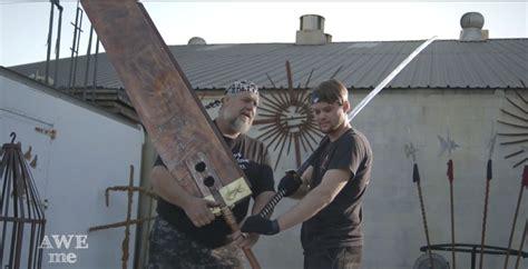 Pedang Baja Asli pembuatan replika pedang sephiroth quot