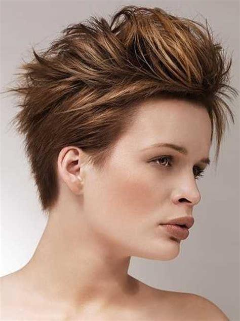 latest short funky hairstyles  women  styles