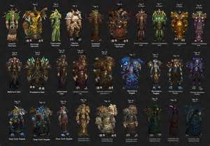 Druid tier sets world of warcraft pinterest