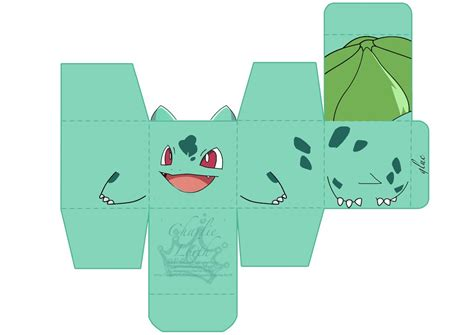 Bulbasaur Papercraft - papercraft bulbasaur by chaaa94 on deviantart