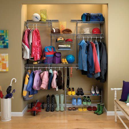 closetmaid shelftrack satin chrome adjustable closet