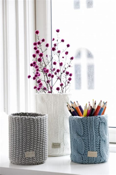 knit home decor amazing knitted interior elements that will warm you up