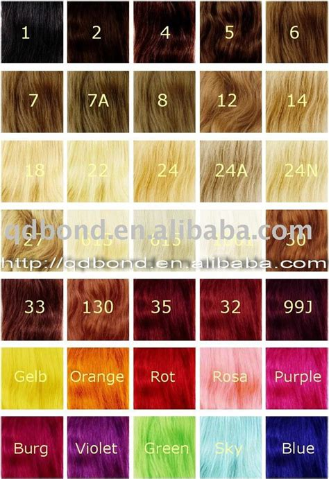 hair color chart 32 best images about hair color chart on