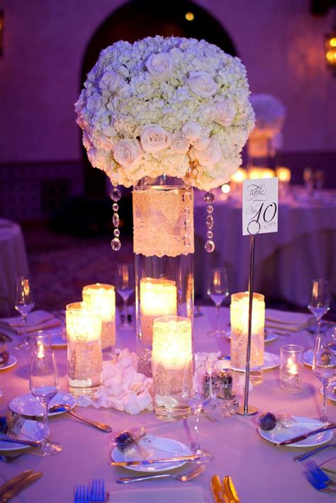 white centerpiece heavenly blooms the centerpieces we went with a cleaner