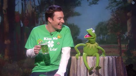 Jimmy Fallon S Day Jimmy Fallon Kermit The Frog Celebrate St