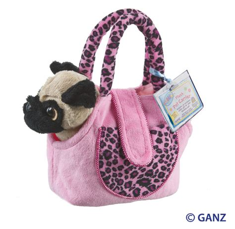 webkinz pug webkinz knit sock hearts desire gifts