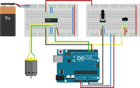 how to motor using arduino dc motor speed and direction using arduino